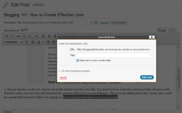 Create Effective Internal Links to Increase Page Views